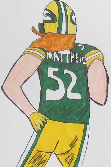 Clay Matthews III by armattock